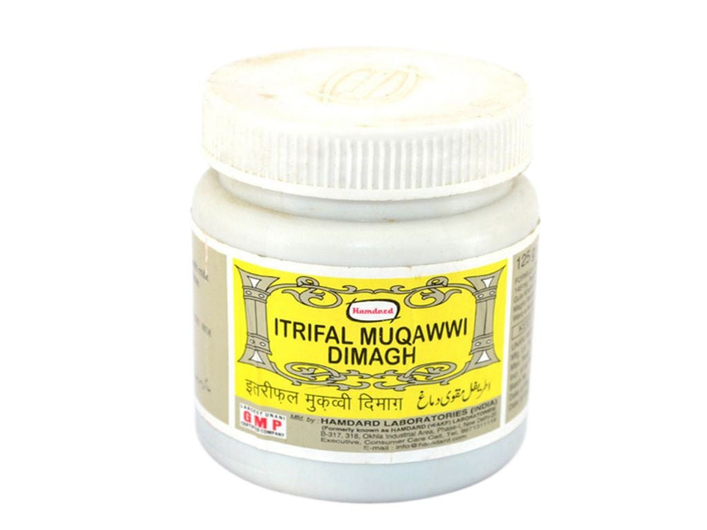100% Herabal Hamdard Itrifal Muqawwi Dimagh For Eye Care-125 Gms