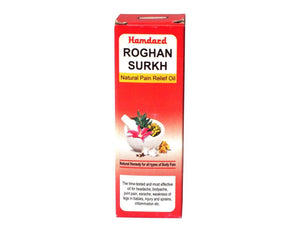 100% Original Hamdard Natural & Herbal Roghan Surkh -50 Ml Available