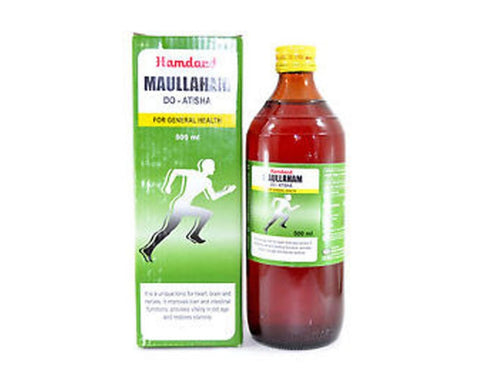 Hamdard unani Maullaham Do Atisha provides vitality in old age-500 Ml Available