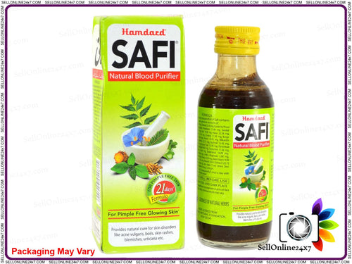 Hamdard Safi Syrup unani For Blood Purifier Best Remedy Acne Treatment -500 Ml Available