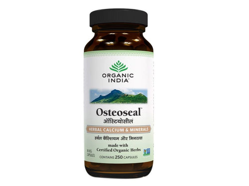 New Organic India Osteoseal Capsules With Calcium & Minerals- For Healthy Bone Available