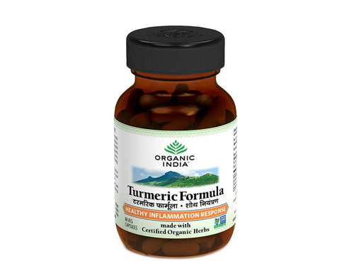 Turmeric Formula 60 Veg Caps- Make Joints Healthy &  Improves Digestion System Available