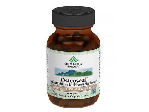 Organic India Osteoseal Capsules-  Increases Bone Mineral Density 60 Veg Caps Available