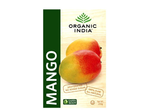 Organic India's 100% Pure Dehydrated Mango Slices- Made From Fresh Mangoes Available
