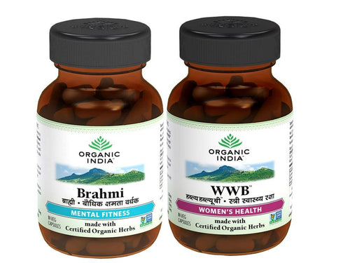 100% Certified Organic India Stress Relief for Disease & Paralysis - 60 Capsule Available