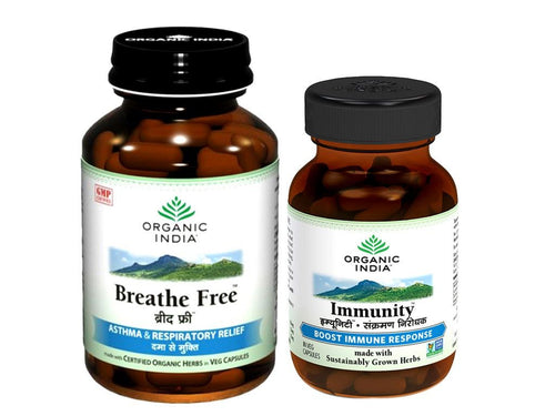 100% Certified Organic India Respiratory Health Care- Combo Pack Available