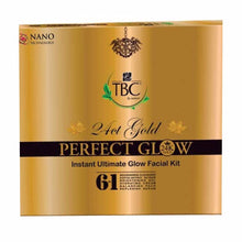 TBC By 24 Carat Gold Perfect Glow Instant Ultimate Gold Facial Kit 55/260 Gms