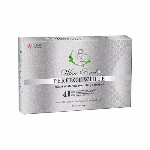 White Pearl Instant Whitening Hydrating  Pearls Influence Facial Kit - 55 Gms