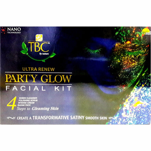 Tbc By Nature Ultra Nourishes Renew Party Glow  Gleaming Facial Kit – 55 Gms