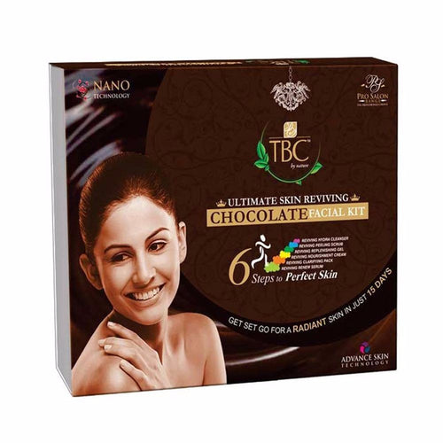 Tbc By Nature Ultimate Skin Reviving Chocolate Best For Wrinkle Facial Kit, 260 Gms