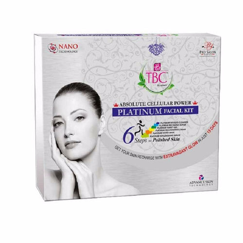 Tbc By Nature Absolute Cellular Power Platinum  Gently Removes  Facial Kit, 260 Gms