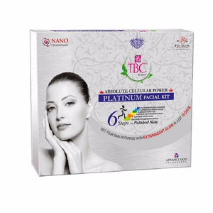Tbc By Nature Absolute Cellular Power Platinum  Gently Removes  Facial Kit, 260 Gms Available
