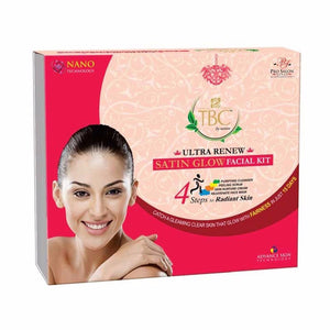 Tbc By Nature Ultra Renew Satin Glow  Ultra Renew Satin Facial Kit, 400 Gms Available