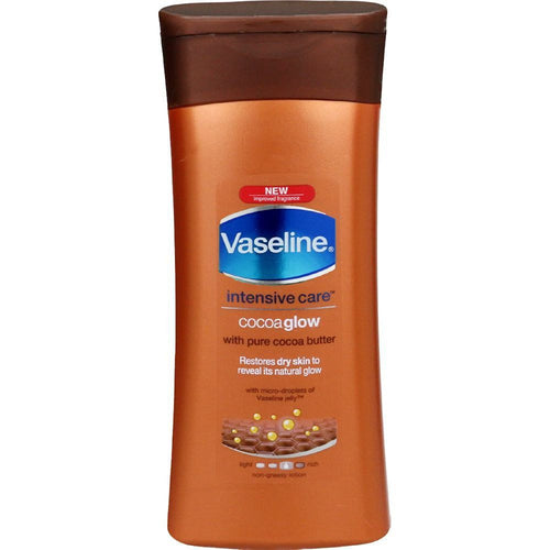 Vaseline Intensive Care Cocoa Glow - Moisturize Dry And Irritated Skin -  100 Ml Available