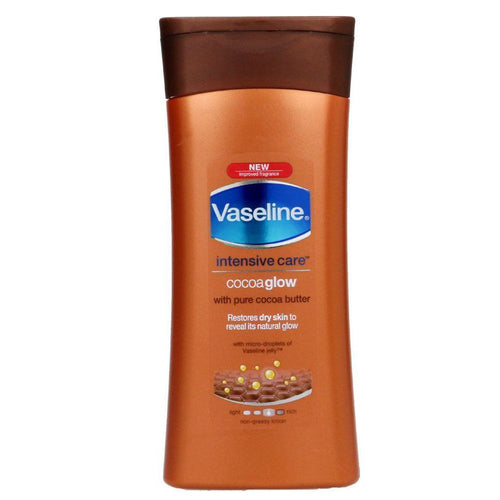 Vaseline Intensive Care Cocoa Glow - Moisturize Dry And Irritated Skin -  400  Ml Available