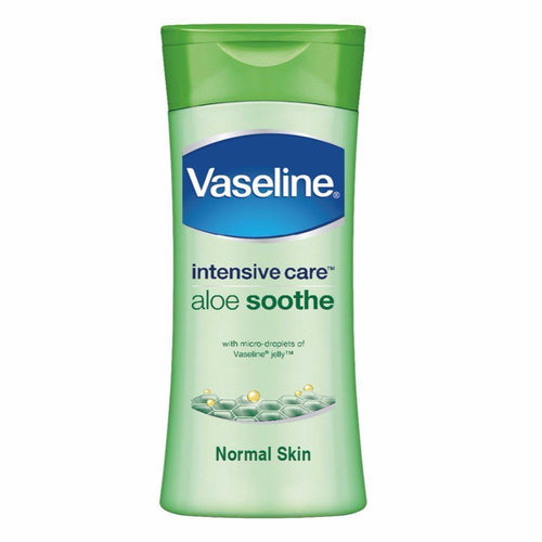 Vaseline Intensive Care Aloe Soothe Lotion With Pure Aloe Extracts 100 Ml Available