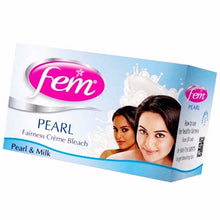 Fem Fairness Naturals Pearl Creme Bleach- Removes Tan and Glowing Skin 314.4 gm