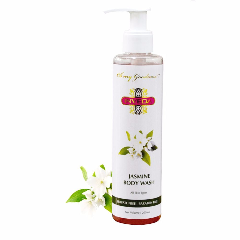 Inveda Jasmine Body Wash 200ML For All Type Skin Available