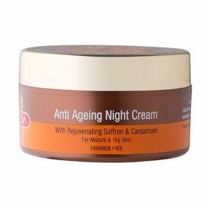 Inveda Anti-Ageing Night Cream 50GM For Mature & Dry Skin