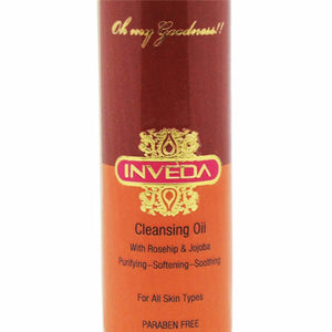 Inveda Cleansing Oil 100ML For clear & Soft, Sooth Skin