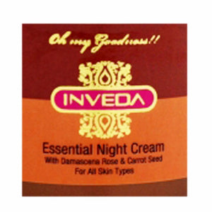 Inveda Essential Night cream For All Skin Type 100Ml