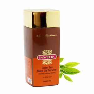 Inveda Green Tea Make Up Remover Cleansing Tonifying Soothing 100ML Available