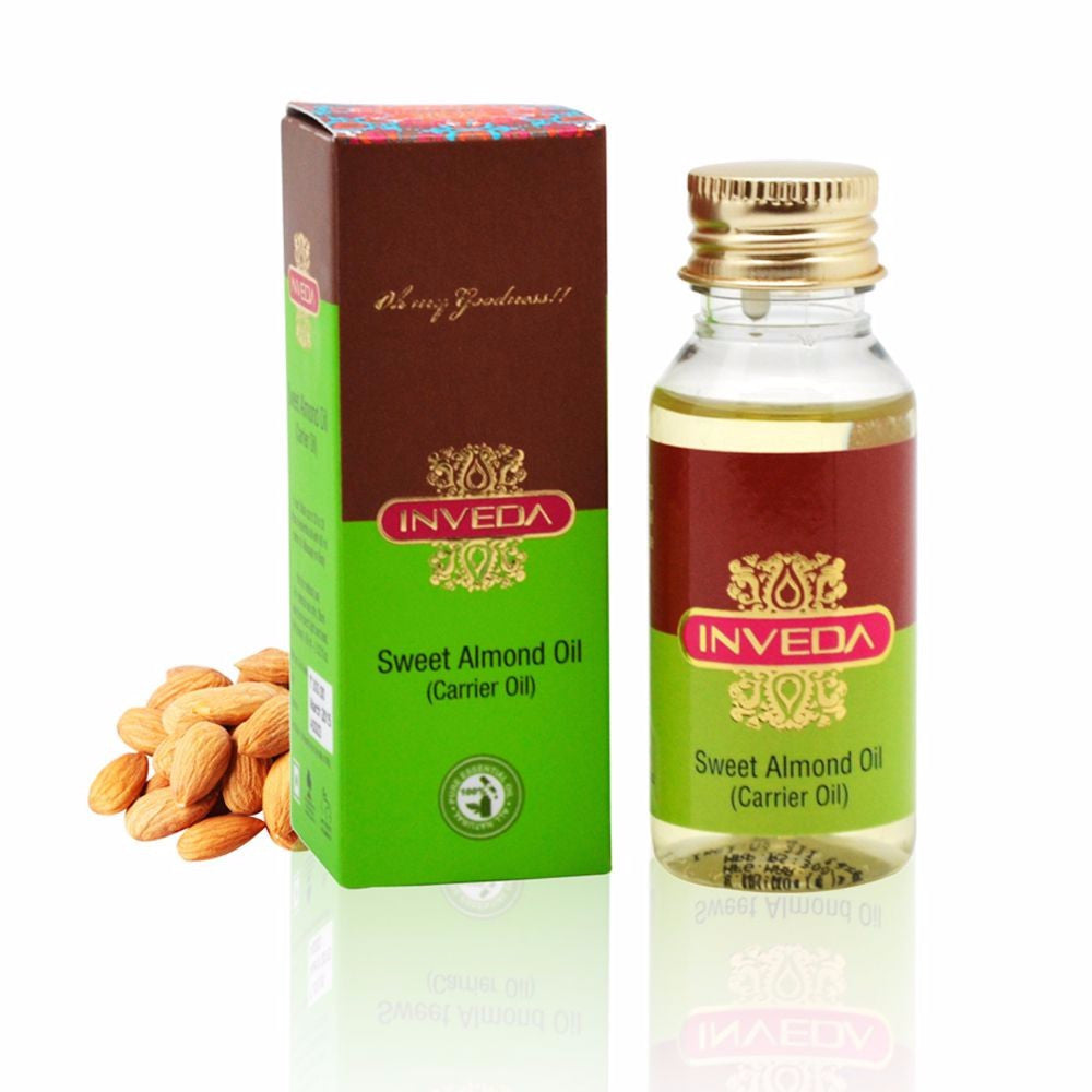 Inveda Sweet Moisturizing Body Massage Almond Oil 60Ml For All Skin Type Available