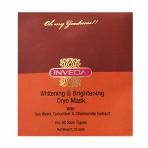 Inveda Whitening & Brightening Cryo Mask For Skin Care 20GM