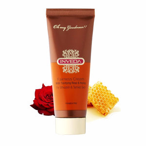 Inveda Fairness Cream With Tonifying Rose & Honey 25 ML Available