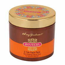 Inveda D Tan Face Pack With Purifying Tulsi & Clove 100 ML