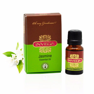 Inveda Dry & Irritated Skin Enhancers Unisex Jasmine Essential Oil 10 ml Available