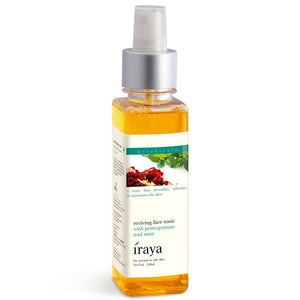 Pomegranate & mint face tonic-repair of tissues-All Skin Types-150ml