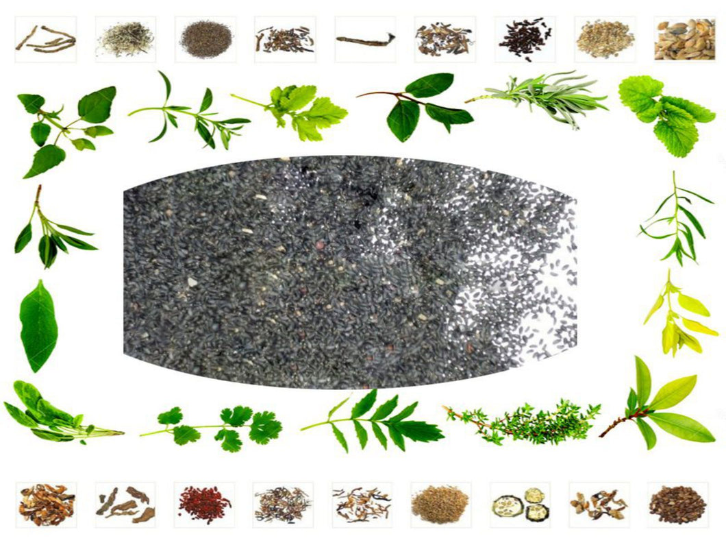 100%   Pure Raw Herb - Tulasi Seed - Tulsi Seeds -  Sabjja - Basil Seeds - Natural Ayurvedic Jadi Buti Health Care Available at BuyIndianProducts24x7.com