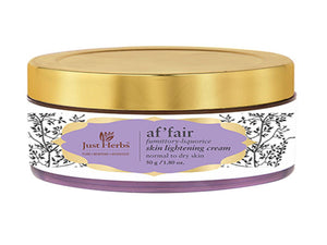 New Just Herbs Affair Fumittory-Liquorice Skin Lightening Night Cream,50gm Available at BuyIndianProducts24x7.com
