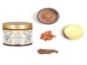 150gm Just Herbs Instaglow Almond Complexion Pack