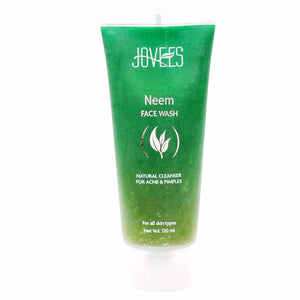 Jovees Natural Neem Face Wash-Natual Cleanser For -120 Ml For Women Available