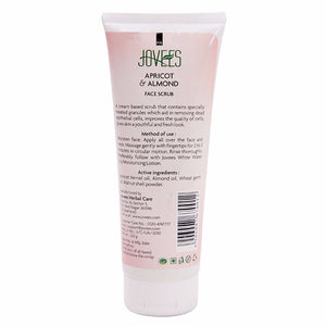 Jovees Apricot & Almond Face Scrub-Freash & Radiant Skin -100 Gms For Women