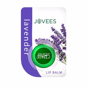 Jovees Lavender Lip Balm-Smooth on lips-5 Gms For Women Available
