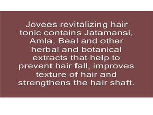 100% Natural Jovees Amla & Bael Revitalising Hair Tonic 100ml