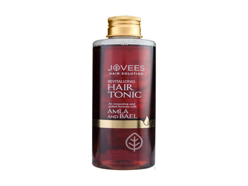 100% Natural Jovees Amla & Bael Revitalising Hair Tonic 100ml Available