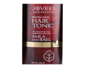 100% Natural Jovees Amla & Bael Revitalising Hair Tonic 200ml