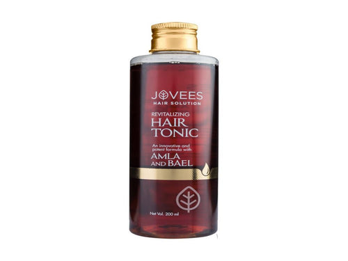 100% Natural Jovees Amla & Bael Revitalising Hair Tonic 200ml Available