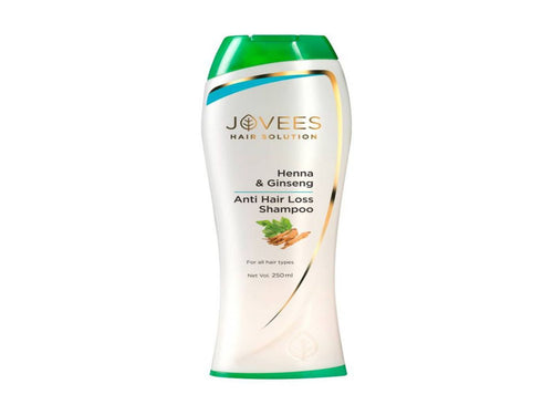 100% Herbal Jovees Henna & Ginseng Anti Hair Loss Shampoo 250ml Available