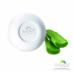 ANUSPA Aloevera Vitamin E Soap For All Skin Types  - 125 Gms