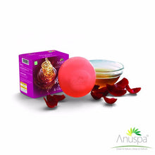 ANUSPA Pure Honey Rose Soap For Oily Skin - 125 Gms