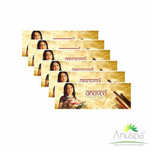 ANUVED Chandanam Agarbatti ( Pack of 6 pouches ) - 125 Gms