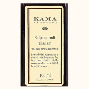 Kama Ayurveda Nalpamaradi Thailam 100% Natural Skin Brightening Treatment -100 ml