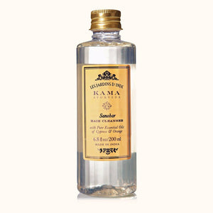 Kama Ayurveda Sanobar Hair Cleanser with Pure Essential Oils of Cypress and Orange, 200 ml