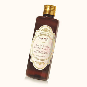 New Kama Ayurveda Rose And Jasmine-Hair Cleanser For Soft and  Shiny Hair 200 ml