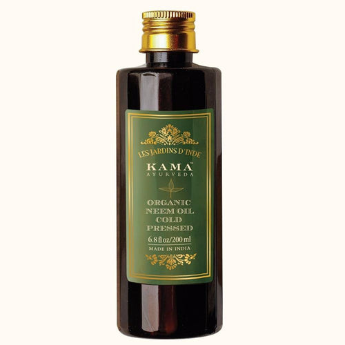 Pure Natural Kama Ayurveda Organic Neem Oil-200 ml